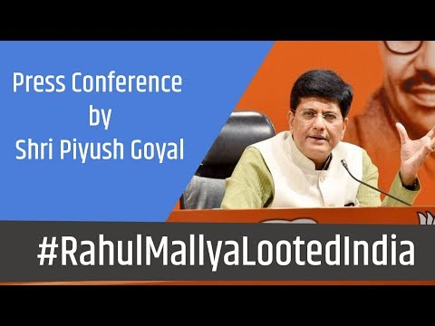 Congress should clarify what relations they had with Kingfisher Airlines: Piyush Goyal