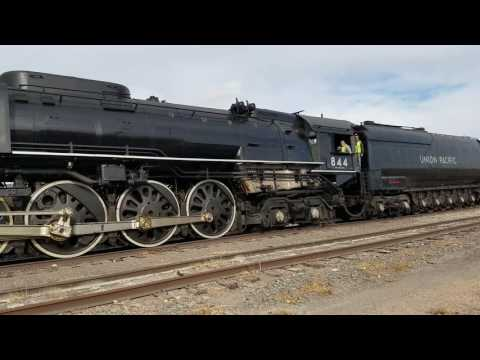 844 Steam Engine North Platte Nebraska