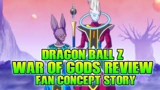 Dragon Ball Z: War Of Gods (Fan Manga Review)