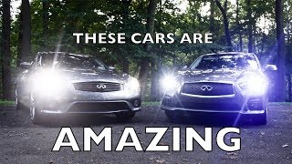(BTS) Going to Review and Compare a G37 and Q50 - INFINITI