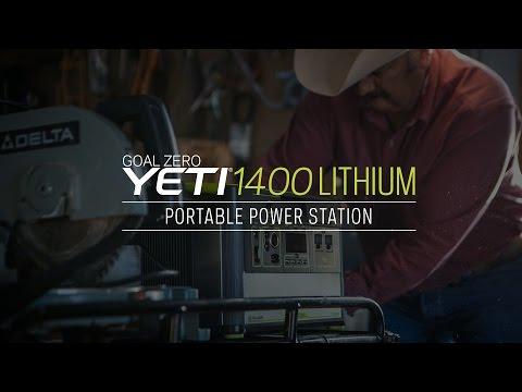 GOAL ZERO | YETI 1400 LITHIUM