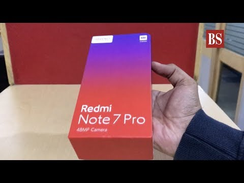 Xiaomi Redmi Note 7 Pro unboxing, hands-on, camera samples, and more