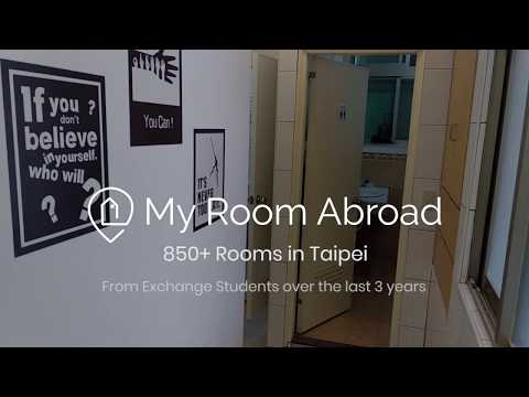 Monthly rental room for studying in Taipei