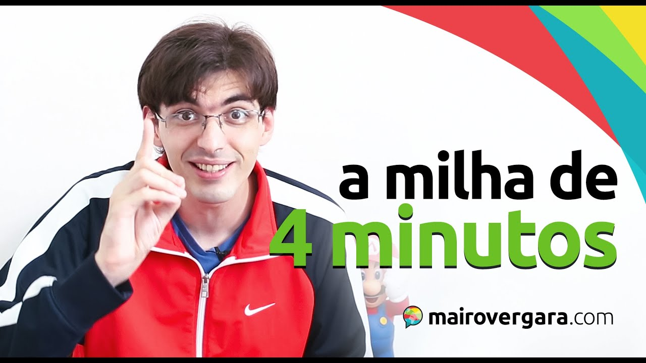 A história da milha de 4 minutos...   Mairo Vergara - YouTube