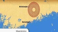 Maanjäristys Uudellamaalla/Earthquake in Finland!