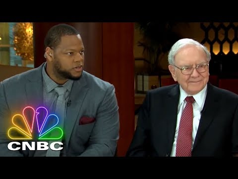 Warren Buffett: Investor. Teacher. Icon.: An Unlikely Friendship With Ndamukong Suh | CNBC Prime