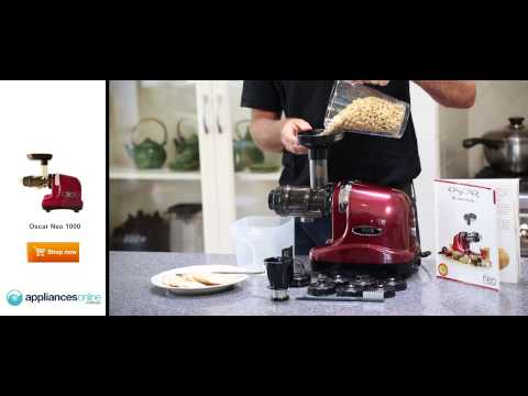 Make delicious, fresh, peanut butter using Vitality4life's Oscar Neo 1000 - Appliances Online