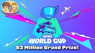 Fortnite World Cup Tournament Gets Attention