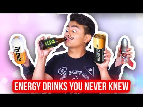 ENERGY DRINKS YOU NEVER KNEW EXISTED!