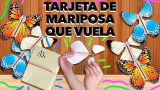 HAZ UNA TARJETA DE MARIPOSA QUE VUELA. MAIRE VS EL INTERNET
