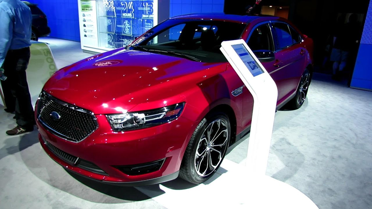 2013 ford taurus sho exterior and interior at 2012 new york international auto show youtube. Black Bedroom Furniture Sets. Home Design Ideas