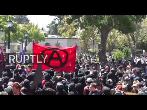 LIVE: Counter-protesters gather in Berkeley amid banned anti-Marxism demo