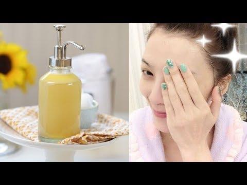 Tự làm sữa rửa mặt tự nhiên cho da cũng mềm đẹp tự nhiên