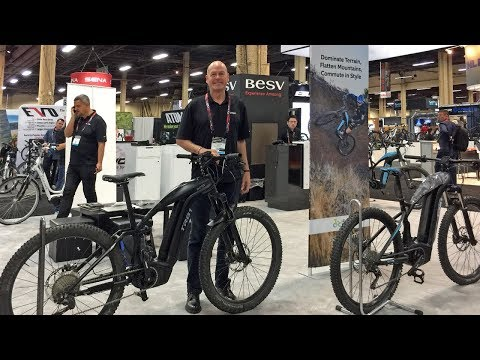 2018 BESV Electric Bike Updates Interbike (Votani X1, BESV J