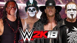 Kane vs Papa Shango vs The Undertaker vs Sting