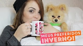 Meus preferidos: inverno (roupas, perfume, música, chás, seriado, filme...) • Karol Pinheiro