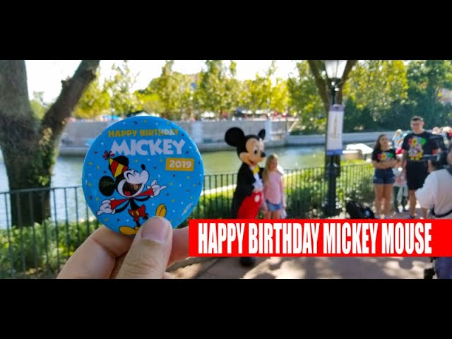 Mickey Mouse Celebrates His 91st Birthday At Walt Disney World