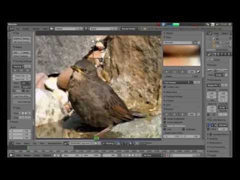 Blender Beginners Tutorial: Basic Video Stabilization Using The Movie Clip Editor