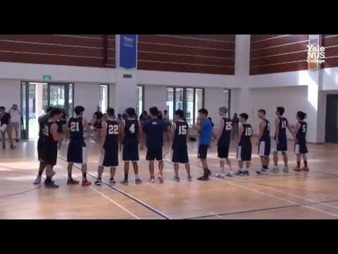 Basketball 31Oct2015 - Yale-NUS vs NYU Shanghai