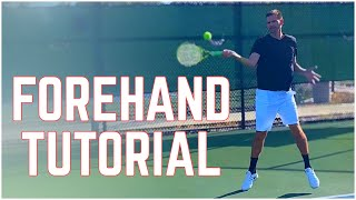 How to hit the perfect forehand? - Forehand Technique - Tennis Lesson