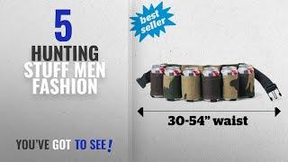 Top 10 Hunting Stuff [Men Fashion Winter 2018 ]: BigMouth Inc Beer Belt / 6 Pack Holster (Camo),