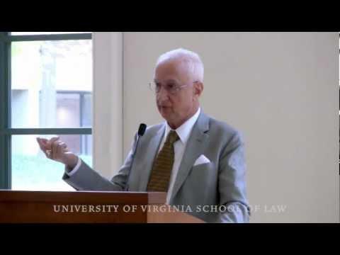 Judge Paul Michel on the U.S. Patent System, UVA Law School Symposium