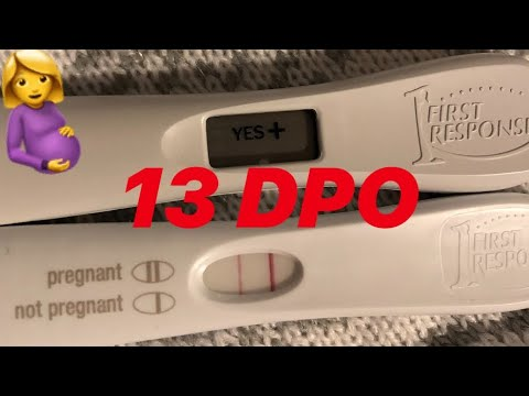 13 DPO pregnancy test! 11 dpo and 12 dpo pics added