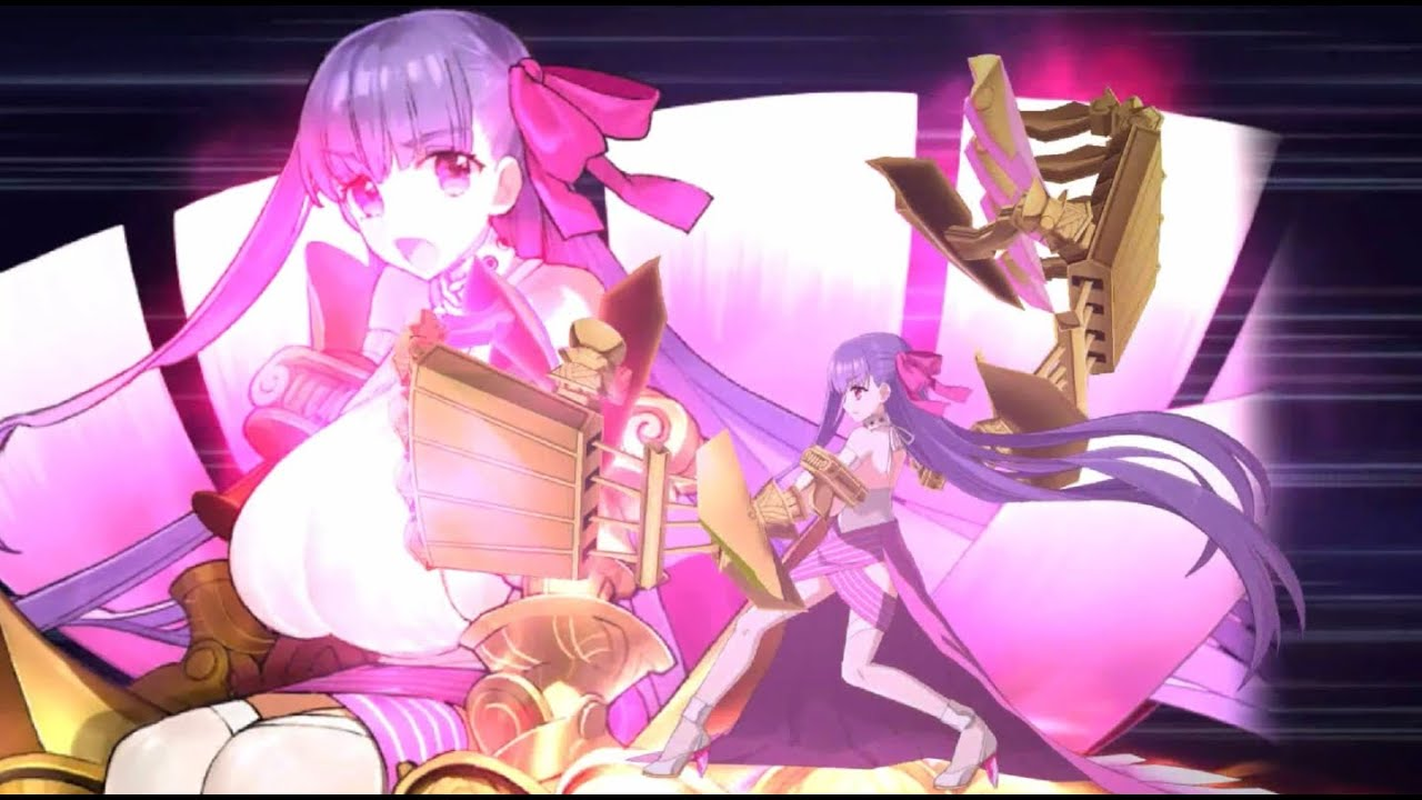 [Fate/Grand Order 60FPS 4K] 4* Passionlip Animation+Skill+NP Demonstration