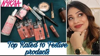 NYKAA Top 10 Festive products must try    starts 99 Rs.