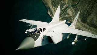 「ACE COMBAT(TM) 7: SKIES UNKNOWN」Game Feature Briefing # 4  Aircraft 「MiG-31B」