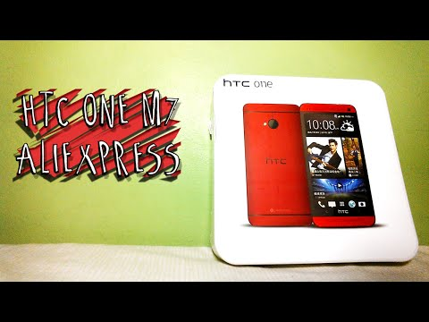 #03 | UNBOXING - HTC One M7 AliExpress (PT-BR)