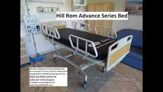 Hill Rom Advance Series Bed Overview