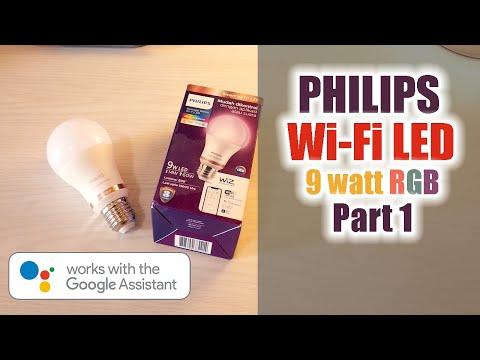 Philips WiFi LED RGB 9 W Lampu Pintar Philips Wiz Led Versi Murah - Part 1