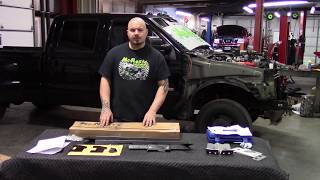 FORD SUPERDUTY NOSE SWAP FRONT END CONVERSION KIT F250 F350 F450 EXCURSION McNasty Customz