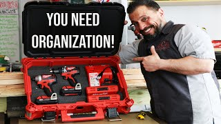How To ORGANIZE ANY TOOL BOX In UNDER 8 MINUTES!