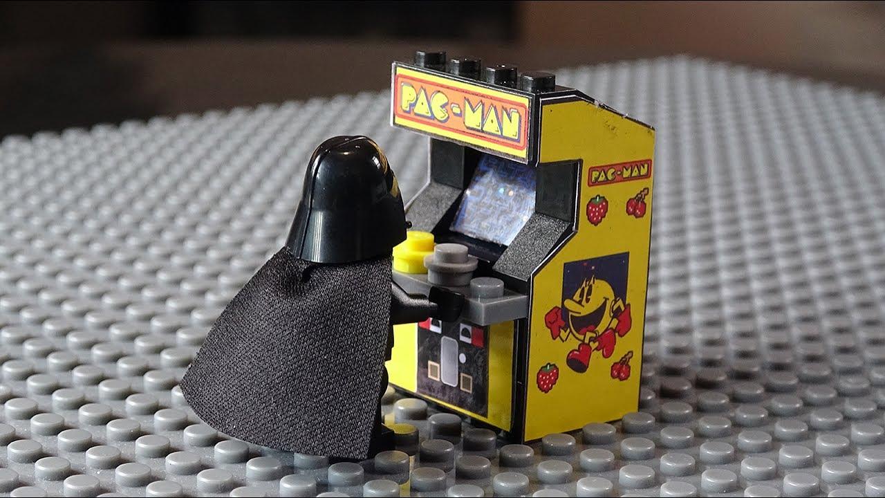 Pac Man Machine >> Lego Pac-Man Arcade Machine MOC - YouTube