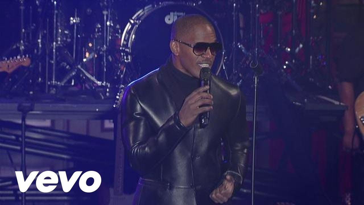 Jamie Foxx - Do What It Do (Live on Letterman)