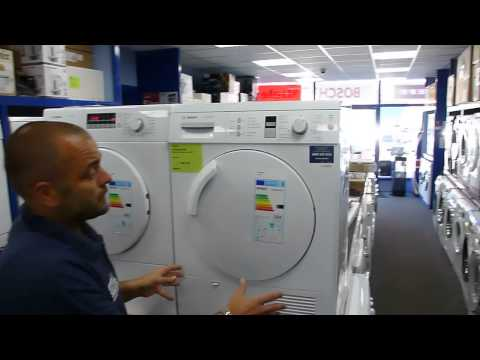 A Video to show you the difference between a Vented and a Condenser Tumble Dryer