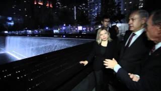 Repeat youtube video PM Netanyahu & PM's wife Sarah, visited Ground Zero