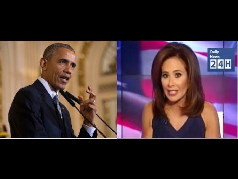 Barack Obama Wants To Shut Down Judge Pirro [Daily News 24h]