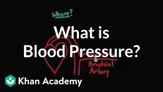 What is blood pressure? | Circulatory system physiology | NCLEX-RN | Khan Academy