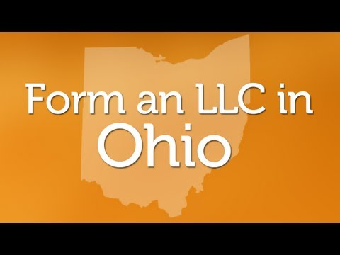 Forming an LLC in Ohio