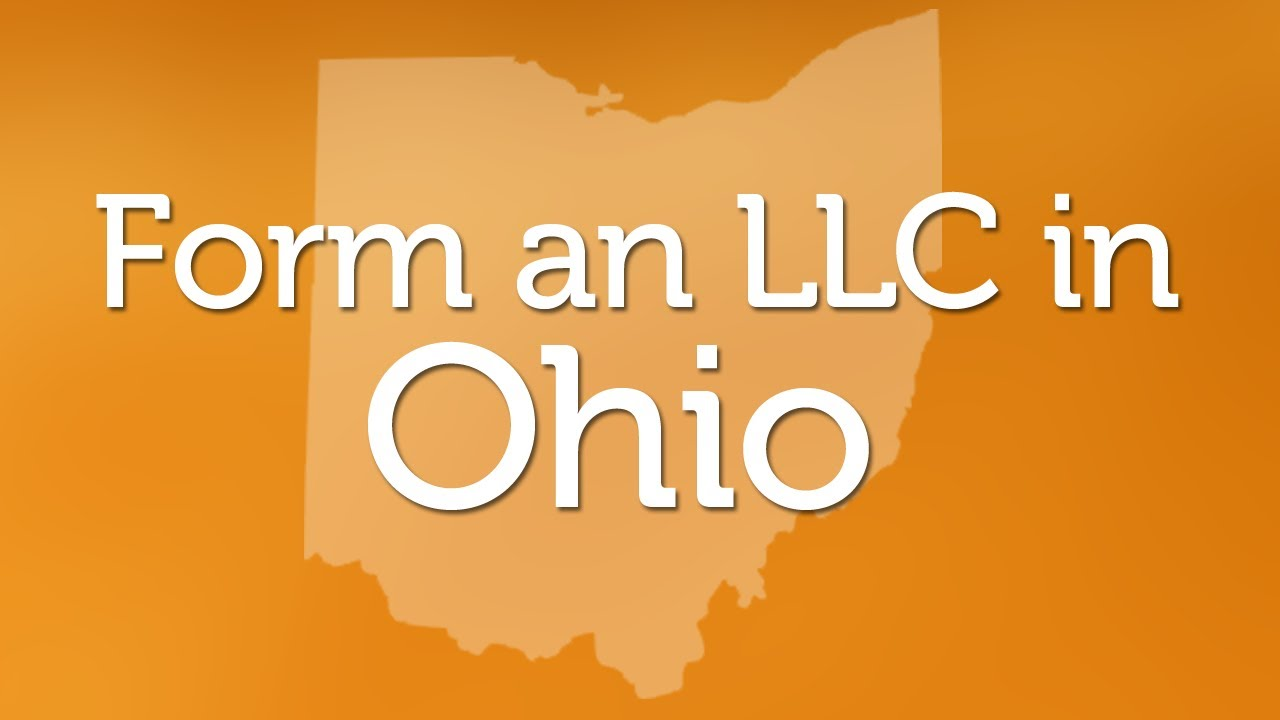 Forming an LLC in Ohio - YouTube