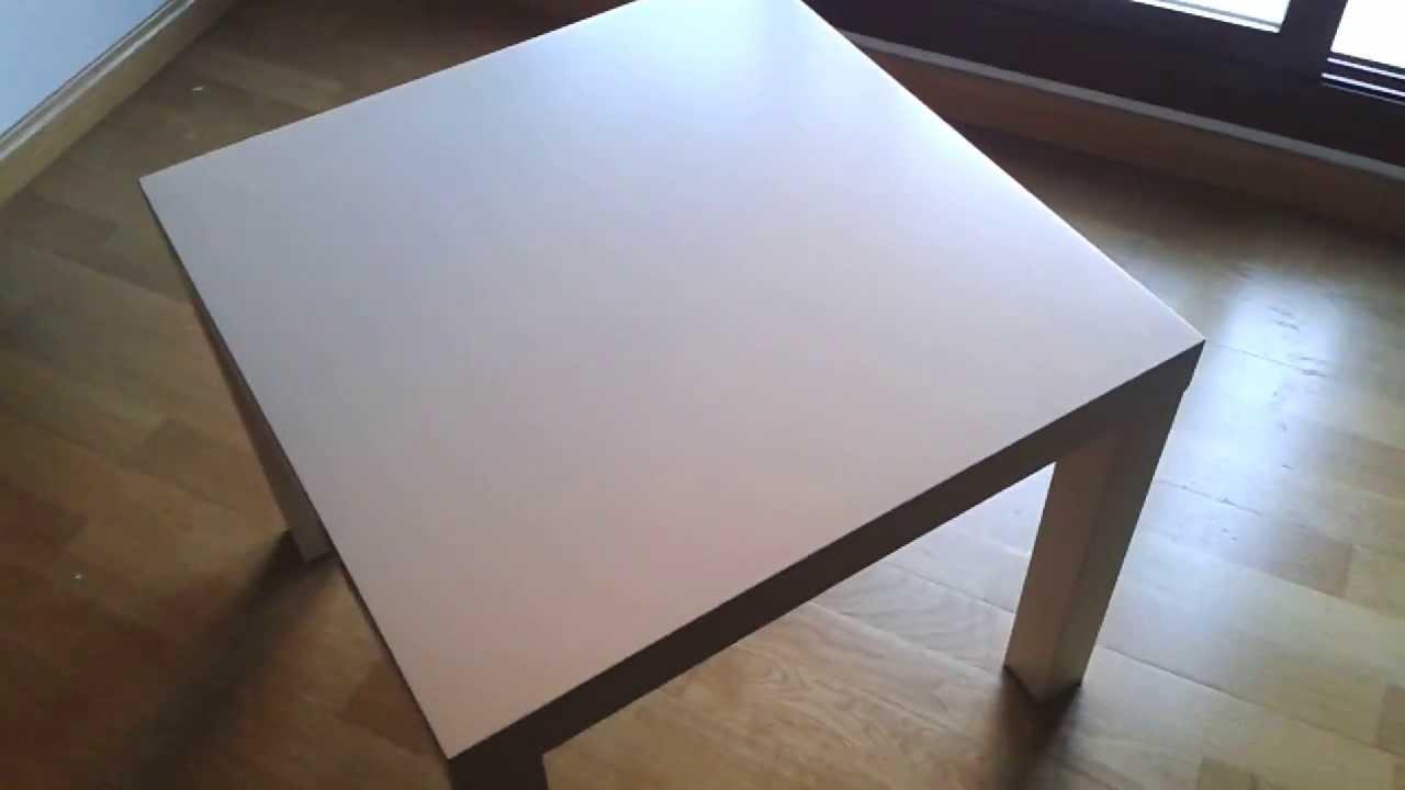 Transforma una mesa lack ikea youtube - Mesa tv ikea lack ...