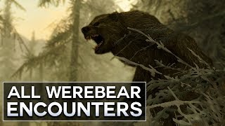 Skyrim - All Werebear Encounters