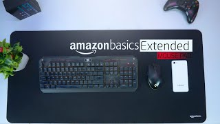 Amazon Basics Extended Edition Gaming MousePad Full Review | BiG Budget Mousepad!! Must have
