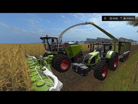 Farming Simulator 2017 - Broad Acres Australia - Testing the new Joskin trailer in Claas Colors 01