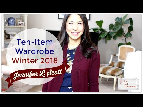 Ten-Item Wardrobe Winter 2018 | Jennifer L. Scott