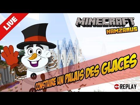 """Minecraft (fr) Le palais des glaces """" de la reine des neiges"""""""