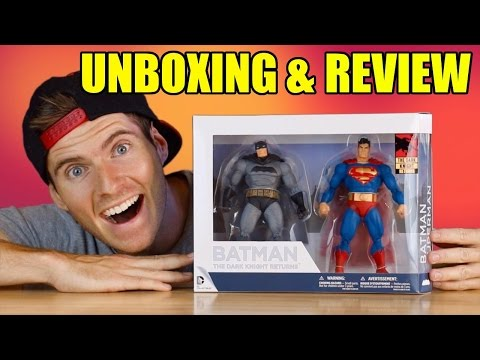 The Dark Knight Returns 30th Anniversary- Batman & Superman Figure 2-pack: Unboxing & Review!